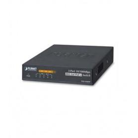 4-Port 10/100Mbps 802.3af/at PoE + 1-Port 10/100Mbps Desktop