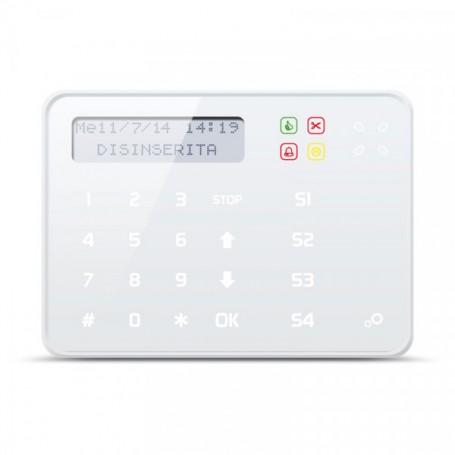 Tastiera Touch Screen capacitiva ANIMA bianca EL.MO.