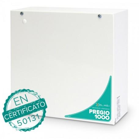 Kit allarme PREGIO1000BM + AURA EL.MO.
