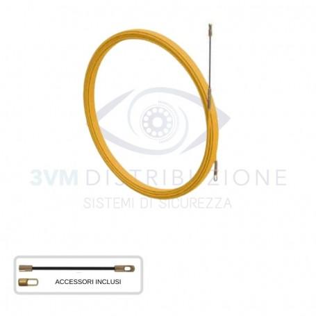 Sonda in acciaio INOX SPIRALATA D3 20metri  Arnocanali
