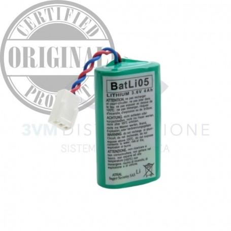 Pila al litio 3,6V - 4Ah BATLI05