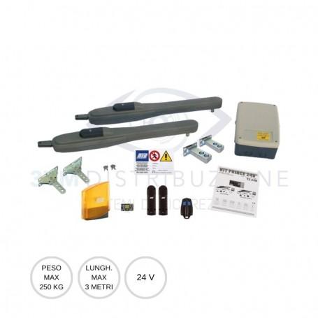 Kit battente 250Kg KIT PRINCE 24V Rib