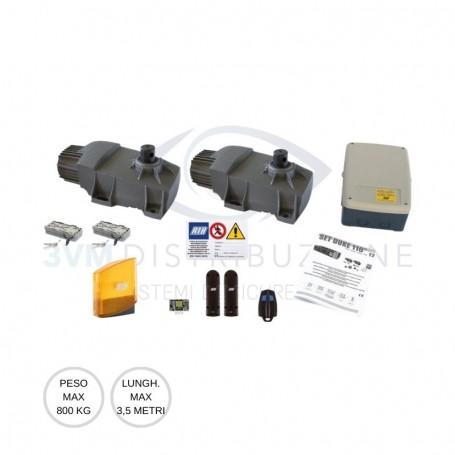 Kit battente 800Kg KIT DUKE 110° AD10980 RIB