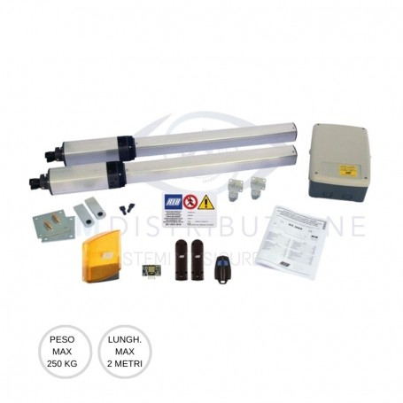 Kit battente 250 Kg KIT IDRO C 27/1B Rib