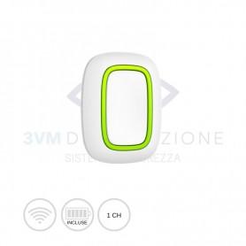 Pulsante antipanico wireless Bianco 10315