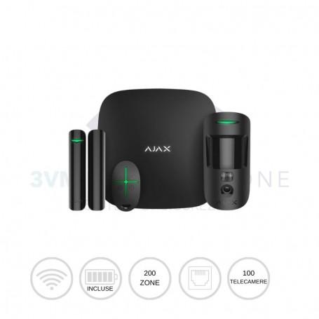 Kit di sicurezza wireless StarterKit Cam nero 20504 Ajax Systems
