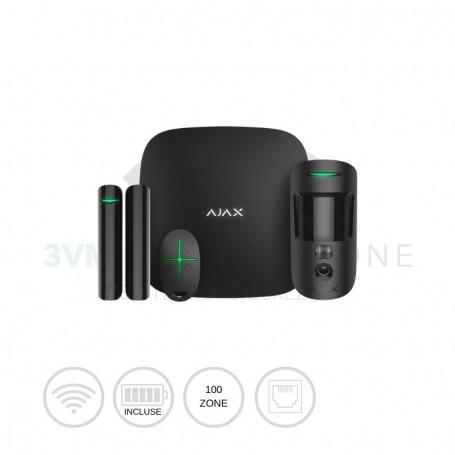 Kit di sicurezza wireless StarterKit Cam nero 20291 Ajax Systems