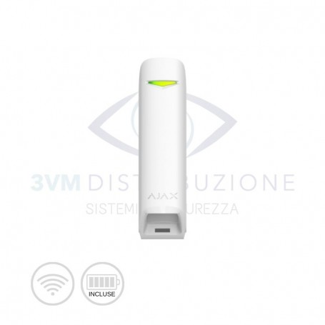 Rilevatore di movimento wireless MotionProtect Curtain Bianco 13268 Ajax Systems