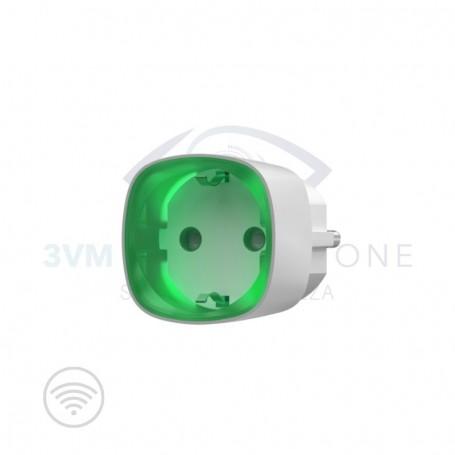 Presa wireless SOCKET Bianco 13305 Ajax Systems