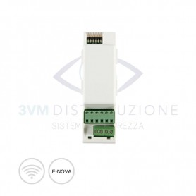 Scheda relay 1 ingresso/ 2 uscite Daitem SH803AX