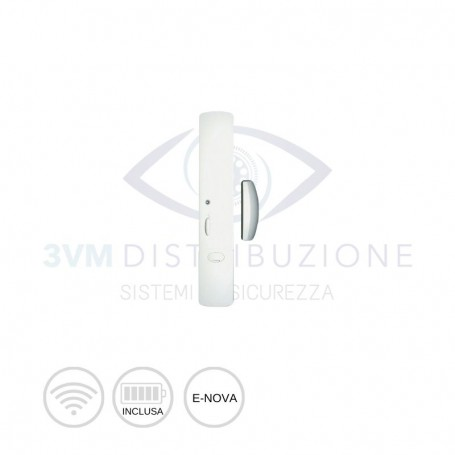 Trasmettitore per contatti e-nova bianco SH271AX Daitem