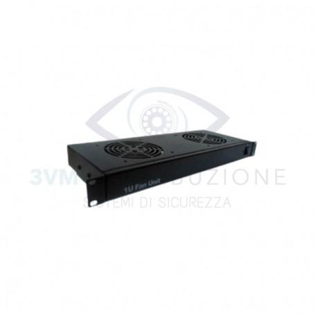Cassetto ventilante 2 ventole 1U 4POWER