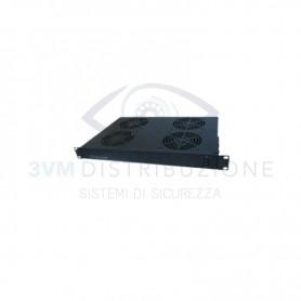 Cassetto ventilante 4 ventole 1U 4POWER