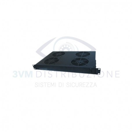 Cassetto ventilante 4 ventole 1U 4POWER