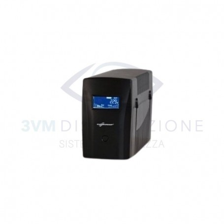 UPS MICRO LCD 1000 Potenza nominale 1000VA 4POWER