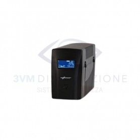 UPS MICRO LCD 1200 Potenza nominale 1200VA 4POWER
