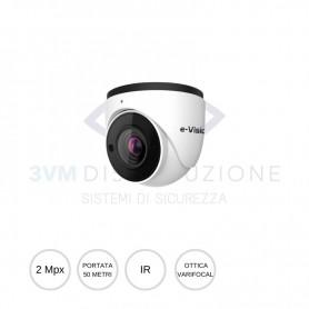 Minidome IP ottica varifocal 2,8-12mm 2Mpx EL.MO.
