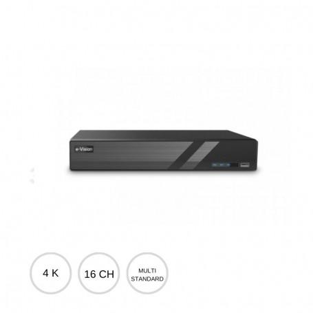 DVR AHD 16 canali 8Mpx 4K PRODVR816A EL.MO.