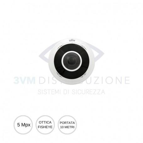 Telecamera Fisheye 5Mpx IPC815SR-DVSPF14 UNV