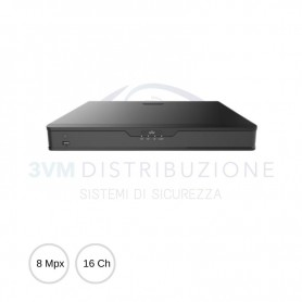 NVR 16 canali 8Mpx NVR302-16S2 UNIVIEW