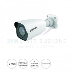 Bullet IP ULTRASENSE varifocal 2,8-12mm 2Mpx EL.MO.
