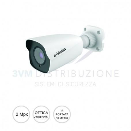 Bullet IP ottica varifocal 2Mpx EL.MO.