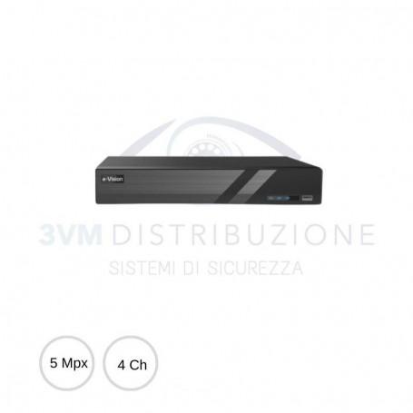 DVR AHD 4 canali 5Mpx PRODVR504A1 EL.MO.