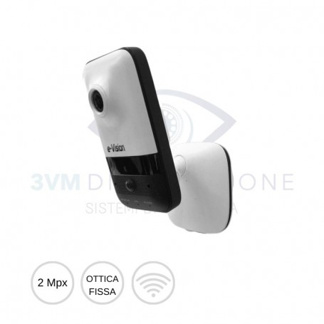 Cube camera IP WIFI 2Mpx EL.MO.