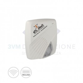 Sirena da esterno wireless GAIA4 EL.MO.