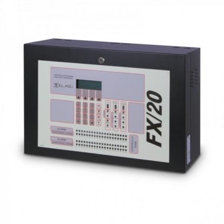 Centrale antincendio analogico-indirizzata FX/20 EL.MO.