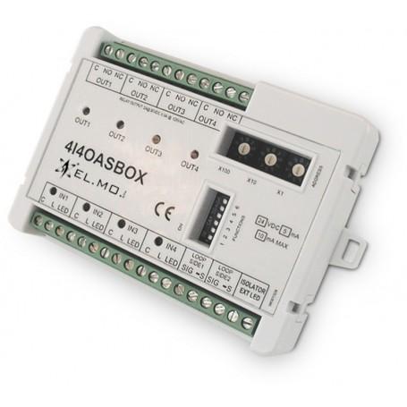 Modulo analogico indirizzato 4I4OASBOX